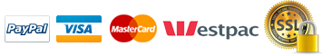Shop with Confidence - We accept Paypal, VISA, MasterCard and we are secured by EV SSL.